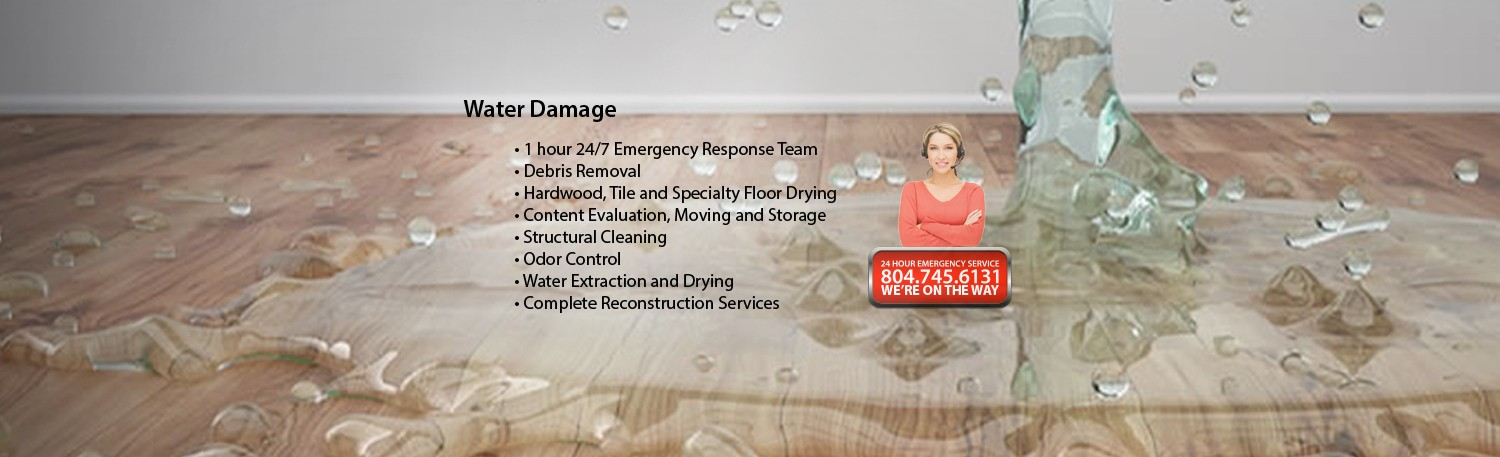 Water Damage Banner